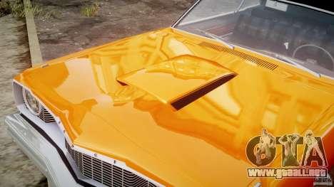 Dodge Dart GT 1975 [Final] para GTA 4 vista superior