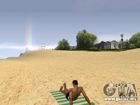 Estera del resto para GTA San Andreas tercera pantalla