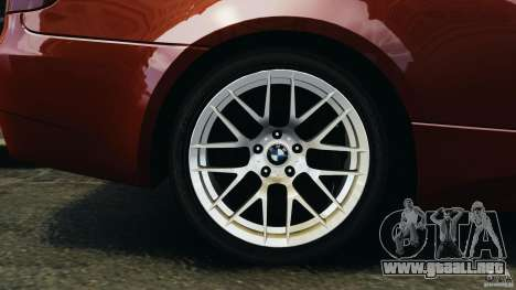 BMW M3 GTS 2010 para GTA 4 vista lateral