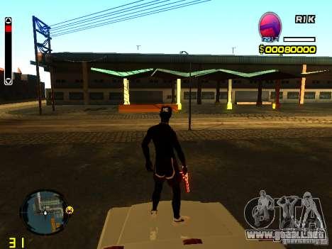 Nueva piel playa para GTA San Andreas segunda pantalla