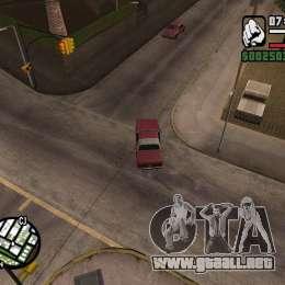 Cámara como en GTA Chinatown Wars para GTA San Andreas séptima