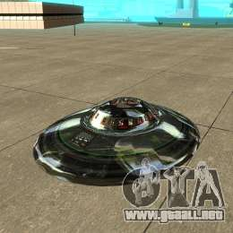 Real ufo para gta san andreas left