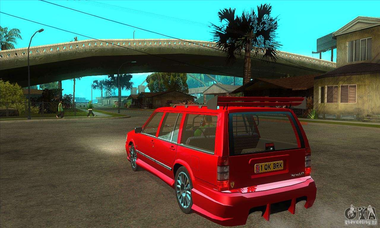 Volvo 945 Wentworth R With Bodykit 1 2 Para Gta San Andreas