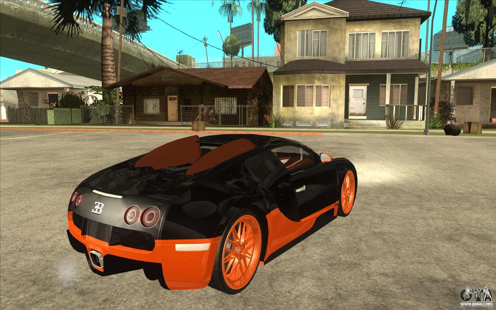 bugatti veyron super sport 2011 para gta san andreas. Black Bedroom Furniture Sets. Home Design Ideas