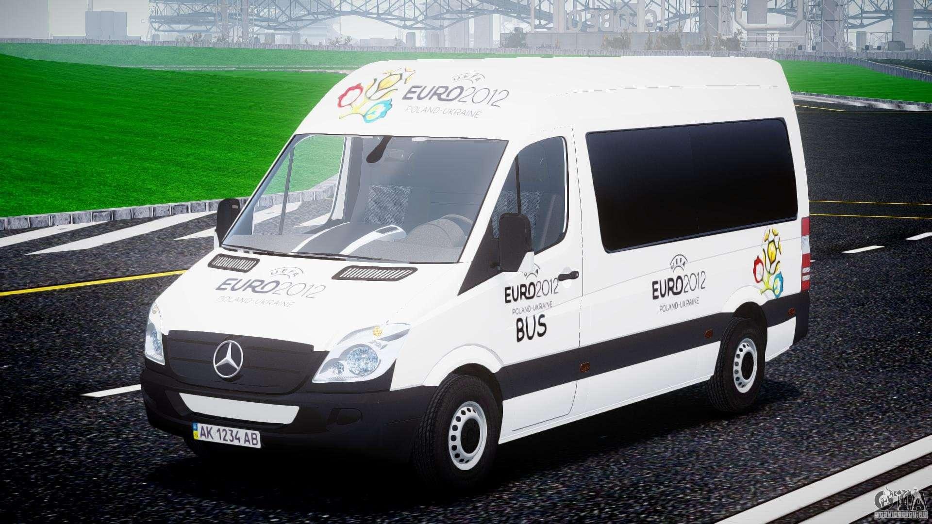 Mercedes benz sprinter euro 2012 para gta 4 for Mercedes benz euro