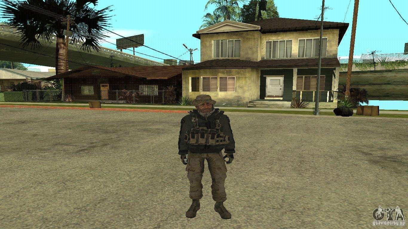 Captain Price Para Gta San Andreas