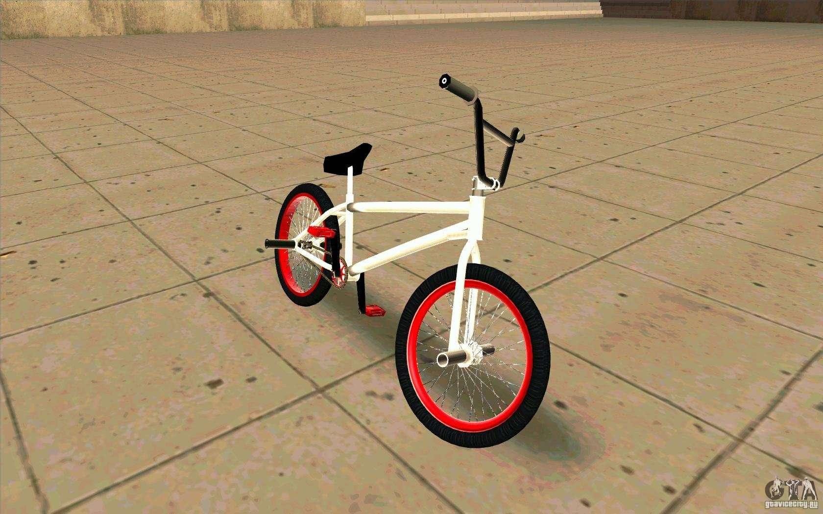 Tunear Bicicleta De Niño: BMX Nueva Para GTA San Andreas