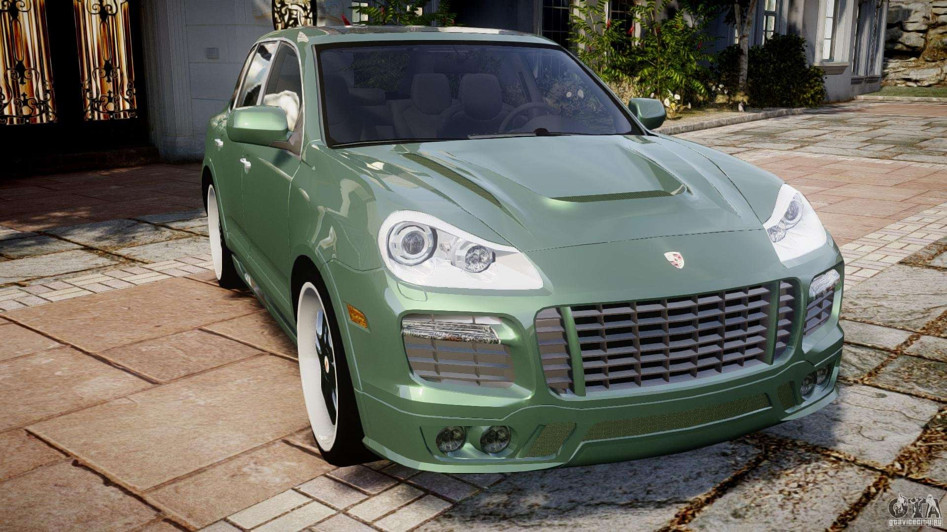 porsche cayenne turbo s 2009 tuning para gta 4. Black Bedroom Furniture Sets. Home Design Ideas