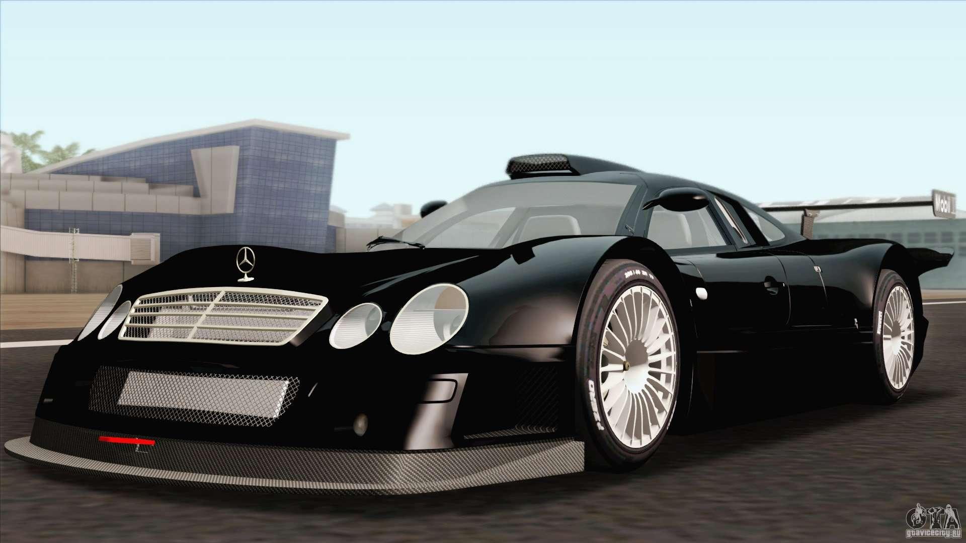 Mercedes Benz Clk Gtr Race Car Para Gta San Andreas