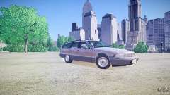 Chevrolet Caprice Civil 1992 v1.0 para GTA 4