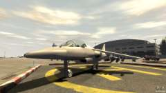 Liberty City Air Force Jet (con equipo)