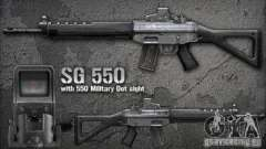 [Point Blank] SG550 para GTA San Andreas