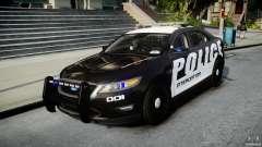 Ford Taurus Police Interceptor 2011 [ELS] para GTA 4