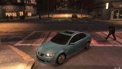 Pontiac G8 GXP para GTA 4