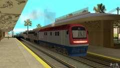Locomotora diesel TÈP150-001 para GTA San Andreas