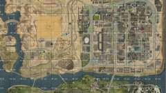 Mapa de San Andreas con actualización v7 para GTA San Andreas