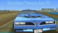 Pontiac Trans Am 77 para GTA Vice City