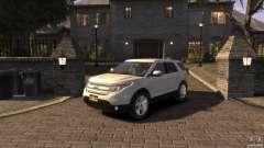 Ford Explorer 2011 para GTA 4