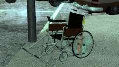 Silla de ruedas manual para GTA San Andreas
