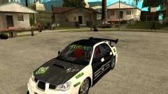 Subaru Impreza Elemental Attack para GTA San Andreas