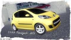 Peugeot 107 2011 para GTA San Andreas