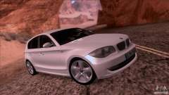 BMW 120i 2009 para GTA San Andreas