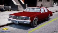 Chevrolet Impala 1983 v2.0 para GTA 4