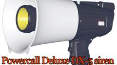 Powercall sirena Deluxe DX-5