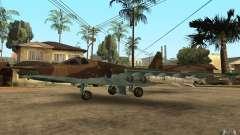 El Su-25 para GTA San Andreas