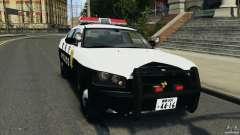 Dodge Charger Japanese Police [ELS] para GTA 4