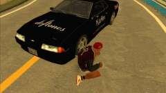 Metal deriva vinilo para GTA San Andreas