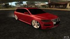 Volkswagen Touareg Dag Style para GTA San Andreas
