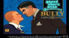 Arranque prediseñadas Bully Scholarship Edition para GTA San Andreas