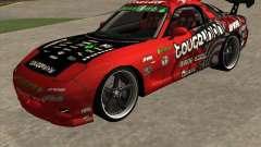 Mazda RX-7 drift king para GTA San Andreas