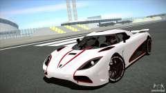 Koenigsegg Agera R 2012 para GTA San Andreas