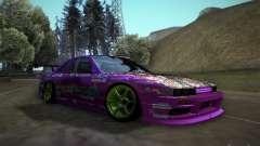 Nissan Silvia S13 Team Burst para GTA San Andreas