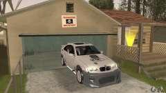 BMW M3 Hamman Street Race