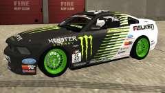 Ford Mustang GT 2010 Vaughn Gittin Jr para GTA San Andreas