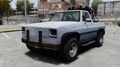 Rancher Tow Truck ELS para GTA 4