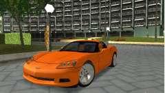 Chevrolet Corvette (C6) para GTA San Andreas