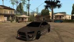 Mitsubishi Lancer Evolution X Drift Spec para GTA San Andreas