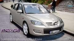 Mazda 3 2004 para GTA 4