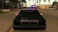 La ventaja del vehículo policial