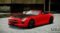 Mercedes-Benz SLS Roadster 2012 HAMANN HAWK AMG para GTA 4