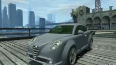 Alfa Romeo Mito de plata para GTA 4