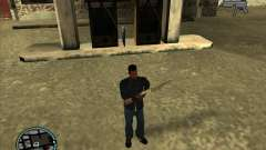 SA IV WEAPON SCROLL 2.0 para GTA San Andreas