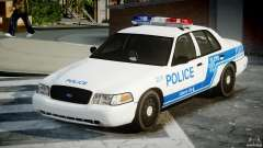 Ford Crown Victoria CVPI-V4.4M [ELS] para GTA 4