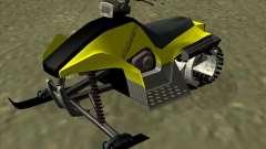 Snowmobile para GTA San Andreas