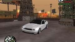 Ford Mustang GT B&W para GTA San Andreas