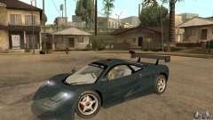 Mclaren F1 LM (v1.0.0) para GTA San Andreas